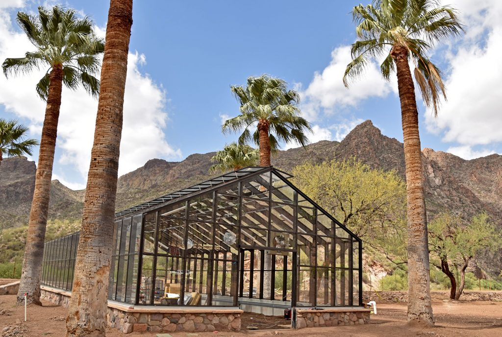 Castle Hot Springs | Green House